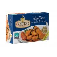 Conserva de Mejillones de Galicia en salsa de vieira - Peso Neto 111 gr