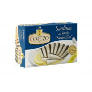 Conserva de Sardina Pequeña (Sardinilla) al Limón 7/10 piezas - Peso Neto 90 gr