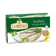 Conserva de Sardina en Aceite de Oliva 3/4 piezas- Peso Neto 115