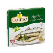 Conserva de Agujas pandereta en aceite de oliva - Peso Neto 252 gr
