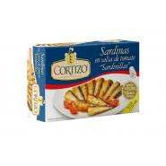 Conserva de Sardina Pequeña (Sardinilla) en Salsa de Tomate 7/10 piezas - Peso Neto 90 gr