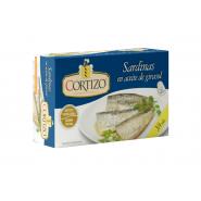 Conserva de Sardina en Aceite de Girasol 3/4 piezas - Peso Neto 115
